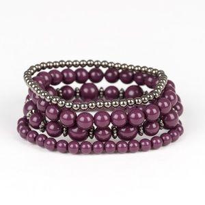 Rockin' Rococo Purple Bracelet